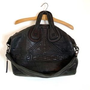 Givenchy quilted lambskin black nightingale bag